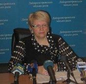 Пресс-конференция руководителя коммунального предприятия Днепропетровского горсовета «Жилсервис-3» Клавдии Крещук