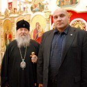 Анатолий Науменко посетил Административный центр Днепропетровского епархиального управления