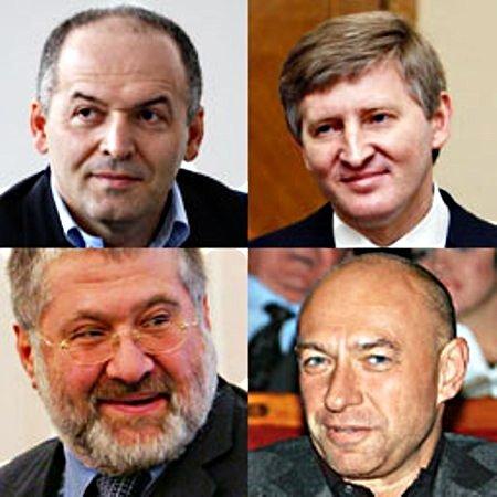 Украинские миллионеры теряют миллионы