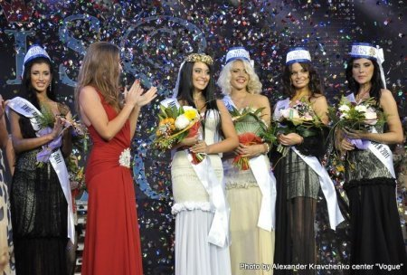 Ольга Позигун из Днепропетровска стала «Вице-мисс Донбасс OPEN-2011»