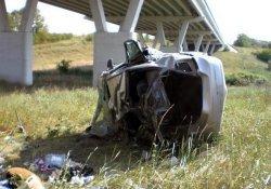 Таксист-инвалид попал в аварию в Днепропетровске
