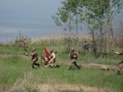 Днепропетровск отбил нападение вражеских солдат
