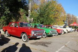 В Днепропетровске прошла выставка старинных автомобилей