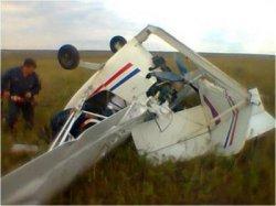 В Днепропетровской области разбился легкомоторный самолет
