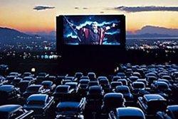 В Днепропетровске появился кинотеатр для автолюбителей