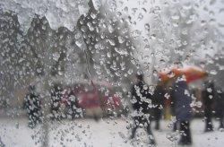В пятницу в Украине возможен мокрый снег