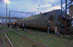 В Запорожье с рельсов сошли три вагона поезда «Киев-Симферополь»