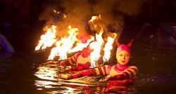 В Днепропетровск приехал московский цирк на воде