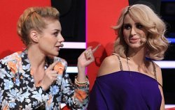 Тина Кароль и Светлана Лобода скандалят на шоу «Голос. Дети»