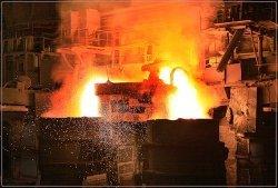 В Днепропетровске остановили последнюю мартеновскую печь