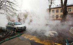 Центр Днепропетровска заливает кипятком