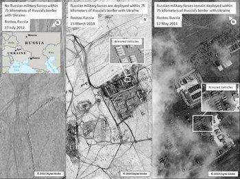 У США есть доказательства присутствия российских войск у границы с Украиной