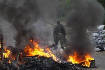В столкновениях под Лисичанском погибло несколько украинских военных
