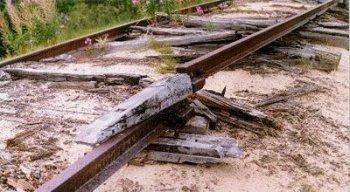 В Луганской области неизвестные взорвали железную дорогу