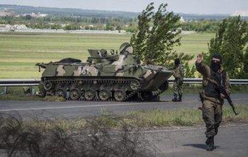 Нацгвардия Украины обстреляла Рубежное разрывными пулями