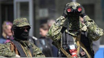 В Донецке возобновился бой между Нацгвардией и ополчением
