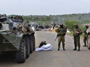 Украинские силовики начали наступление по всем фронтам