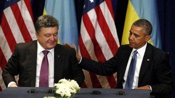 Барак Обама поддержал Порошенко в его позиции по востоку Украины