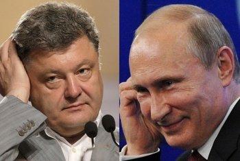 Порошенко просит у Путина помощи в освобождении активистов и журналистов