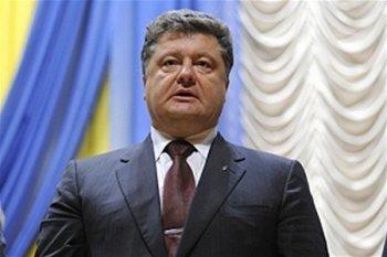 Порошенко снова пообещал прекратить огонь на Донбассе