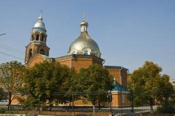 В Славянске украинские силовики обстреляли собор